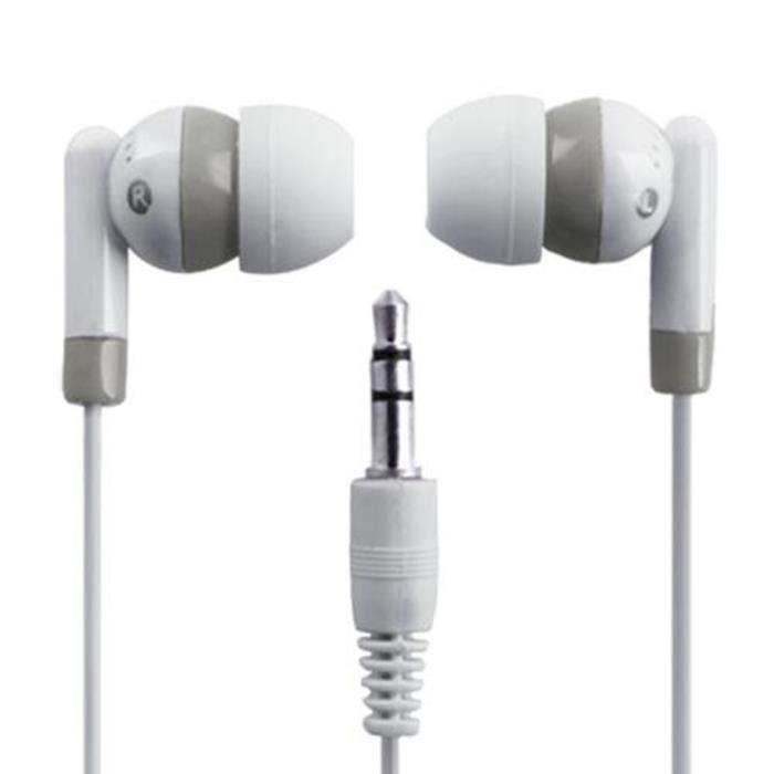 CASQUE AVEC MICROPHONE In-Ear Durable Haute Qualité New 3.5mm Ecouteur in