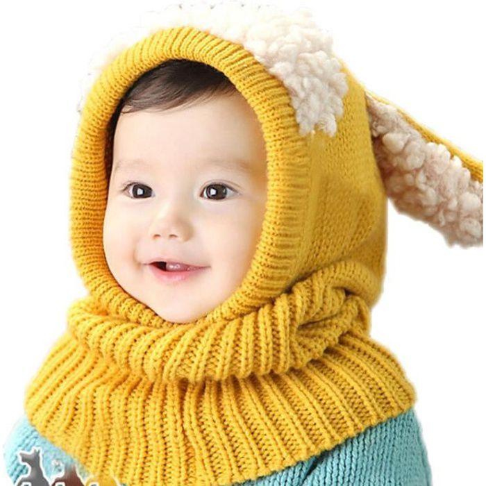 BONNET , CAGOULE Bonnet écharpe hiver enfant fille bébé