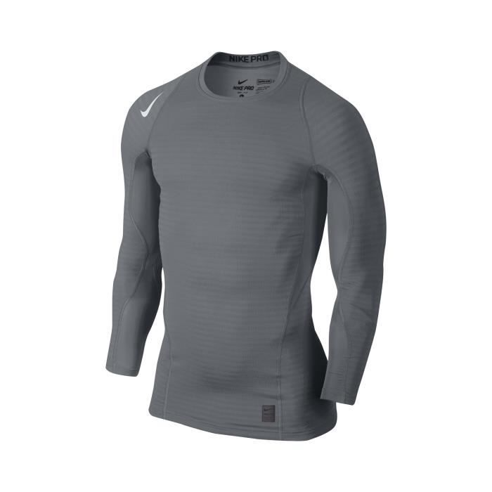 T-SHIRT THERMIQUE Maillot Manches Longues Nike Pro Warm Compression 56ddf2ffd2a0