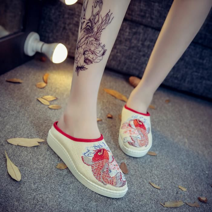 IZTPSERG Mules Chaussures Fille Femme
