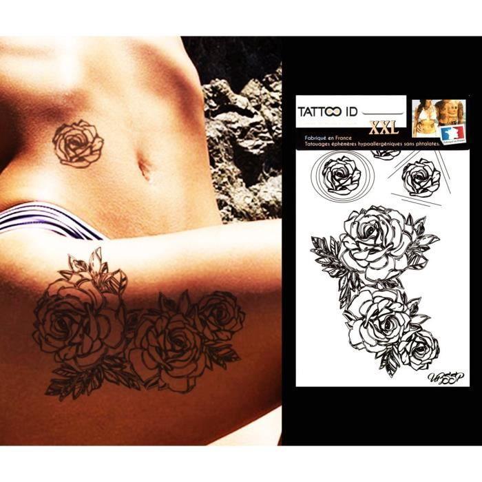 tatouages ephemeres femme