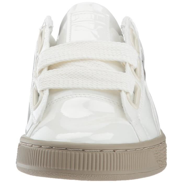 Puma Basket Heart Patent Wn Sneaker O4IGD Taille-40 1-2