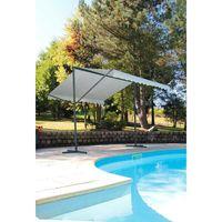 TONNELLE - BARNUM Store double pente Provence - 350 x 300 cm - Ecru