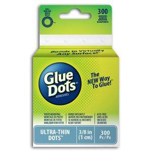 Glue Dots? Rouleau de 300 pastilles de colle - ultra fin - 10mm