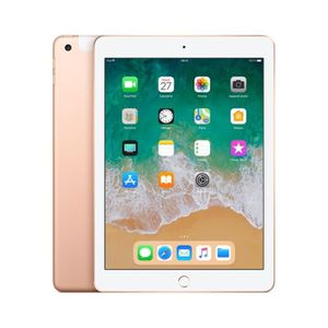 TABLETTE TACTILE Tablette tactile APPLE - iPad 2018 Or - 128 Go - W