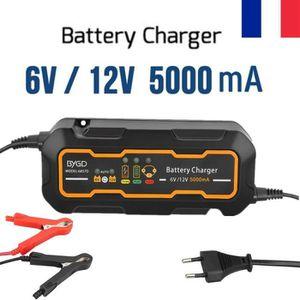 CHARGEUR DE BATTERIE Chargeur de Batterie Intelligent Automatique 6 V 1