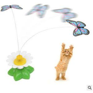 JOUET Siège rotatif électrique papillon chat drôle chat