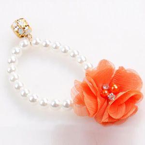 COLLIER Perle fleur collier élastique collier chat bijoux