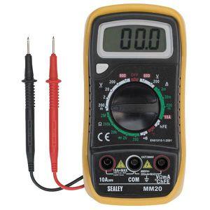 MULTIMÈTRE Multimètre Digital numérique LCD-Voltmètre (AC DC)