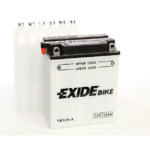BATTERIE VÉHICULE EB12A-A YB12AA YB12A-A, EXIDE Batterie de démarrag