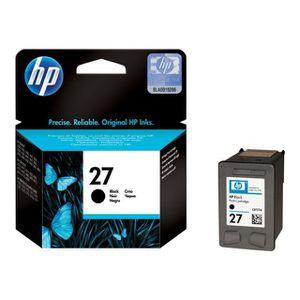 CARTOUCHE IMPRIMANTE HP Pack de 1 Cartouche d'encre 27 Original - Noir