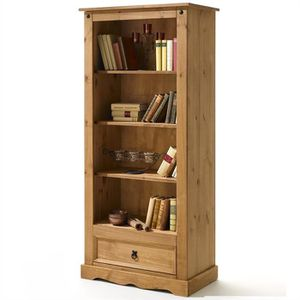 bibliotheque bois massif achat vente pas cher. Black Bedroom Furniture Sets. Home Design Ideas