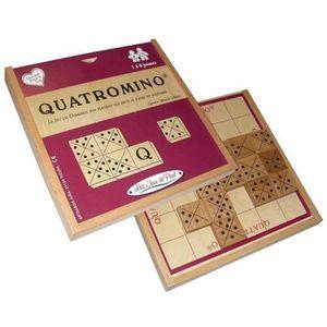 JEU SOCIÉTÉ - PLATEAU Les Jeux de Paul - Quatromino - JURA BUIS