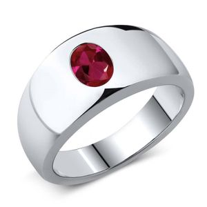 Bague ruby homme
