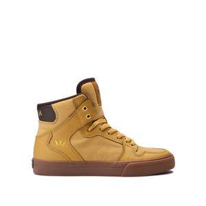BASKET Chaussures SUPRA KIDS VAIDER Amber gold gum