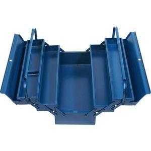 BOITE A OUTILS TEC HIT Caisse outils vide 5 compartiments métal