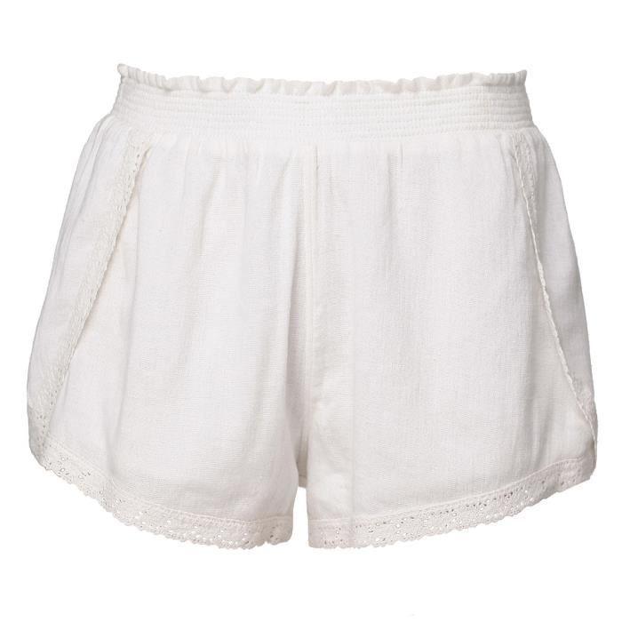BILLABONG Jupe Culotte Hidden Bloom S3WK07 Cool Wip - Femme - Blanc