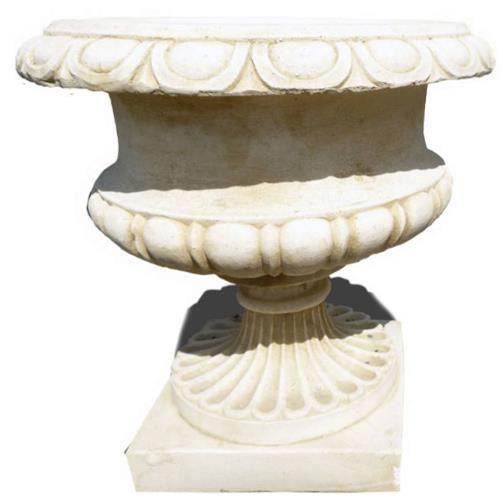 Vasque en pierre pour jardin - Achat / Vente pas cher