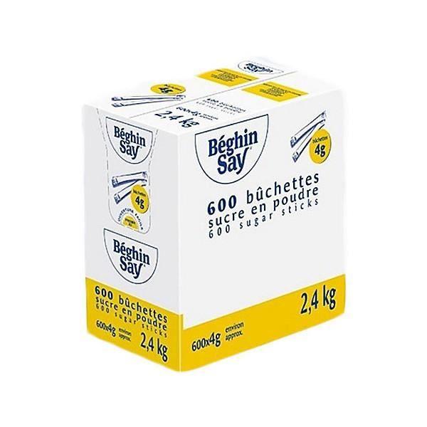 Sucre b chettes 600 x 4 g achat vente copeaux bois for Chambre de sucre coupon code