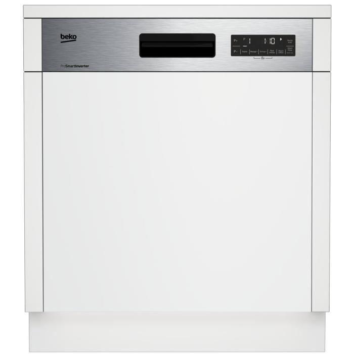 BEKO PDSN39530X   Lave Vaisselle Encastrable   15 Couverts   44dB   A+++    Larg 59,8cm