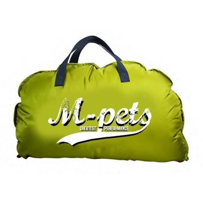 M-pets - Coussin Bilbao Jaune M Pour Chien Bleu,jaune,rouge,vert