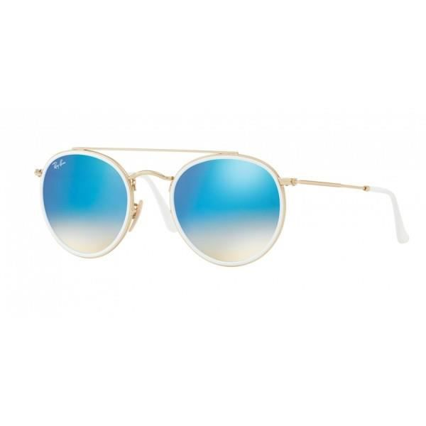 Ray-Ban Round Double Bridge RB3647N-001 40 - Achat   Vente lunettes ... ab40f0fc9779