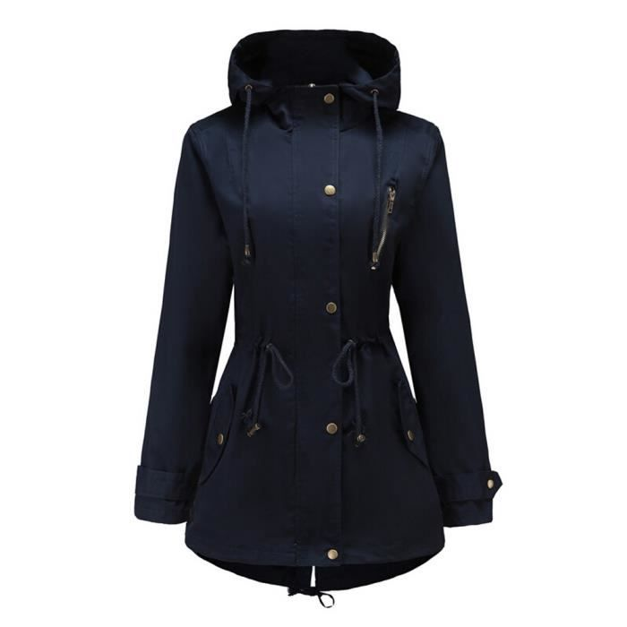 Femme Veste Longues Manteau Solide Paontry7271 Haut Plus Pardessus Thicker Manches Outwear Taille Zw6gAE