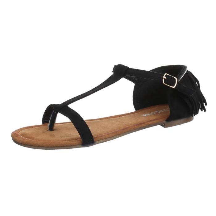 Femme sandale chaussure de Dianette toe trenner Femme chaussure JqlmKbSL