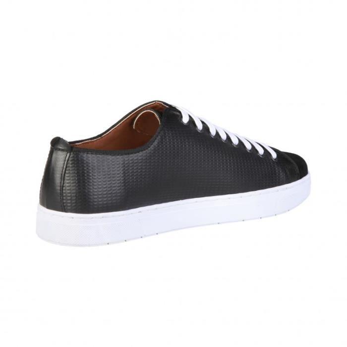 Basket - Pierre Cardin - Sneakers pour Homme noir Pierre Cardin