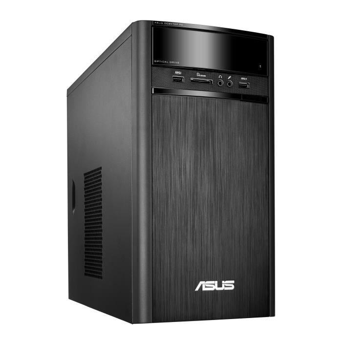 ASUS PC de Bureau K31DA-FR029T -RAM 8Go - AMD A4-6210 - Stockage 2To - Windows 10