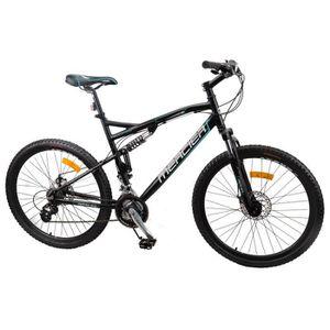 MERCIER Vélo VTT freins disques Tout Suspendu Aluminium 24 Vitesses Shimano Homme 26 pces