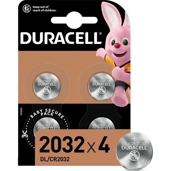DURACELL Pile Speciale 2032 X4