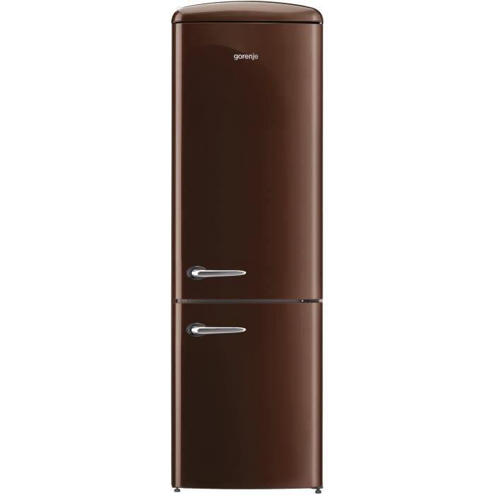 GORENJE ORK 192CH Réfrigérateur congélateur bas-322 L (227L + 95L)-Froid brassé / statique-A++-L 60