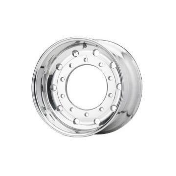 Roue ALCOA en aluminium forgé pour Poids Lourd - 22.5x11.75 déport 0 mm - Perçage 26 mm - Capacité 4.750 kg - Finition Dura-Bright