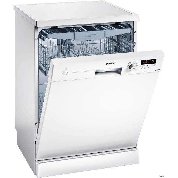 SIEMENS SN215W02EE - Lave-vaisselle pose libre - 13 couverts - 46 dB - A+ - Larg 60 cm - Moteur indu
