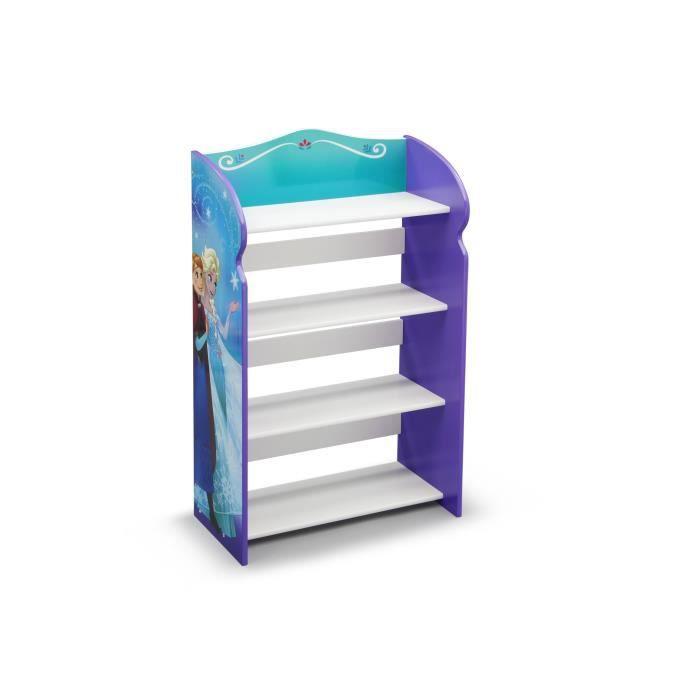 LA REINE DES NEIGES - Bibliothèque Enfant - Bleu et Multicolore