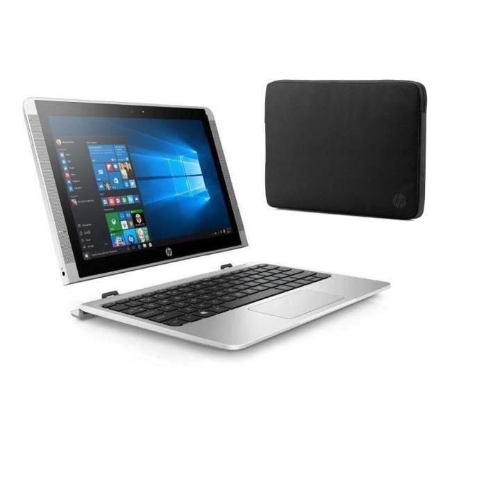 "HP PC 2 en 1 - 10p022nf - 10.1"" - 4 Go de RAM - Windows 10 - Intel Atom x5-Z8350 - Intel HD 400"