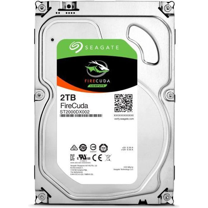 Seagate HDD FireCuda 2To 3,5