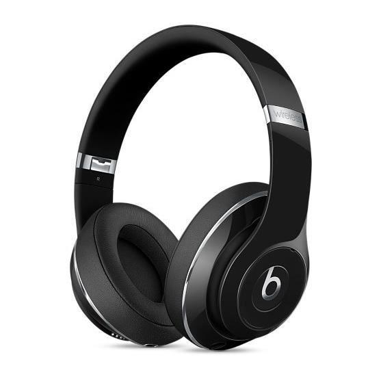 Casque circum-auriculaire Noir verni - Connection à votre appareil Bluetooth - 12h d'autonomie en BluetoothCASQUE - ECOUTEURS