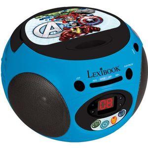 RADIO CD ENFANT LEXIBOOK -AVENGERS -  Lecteur CD & Radio Enfant