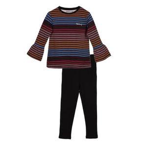 PYJAMA LITTLE MARCEL Pyjama 2 pièces Noir Enfant Fille ... f1c46c2f5c4