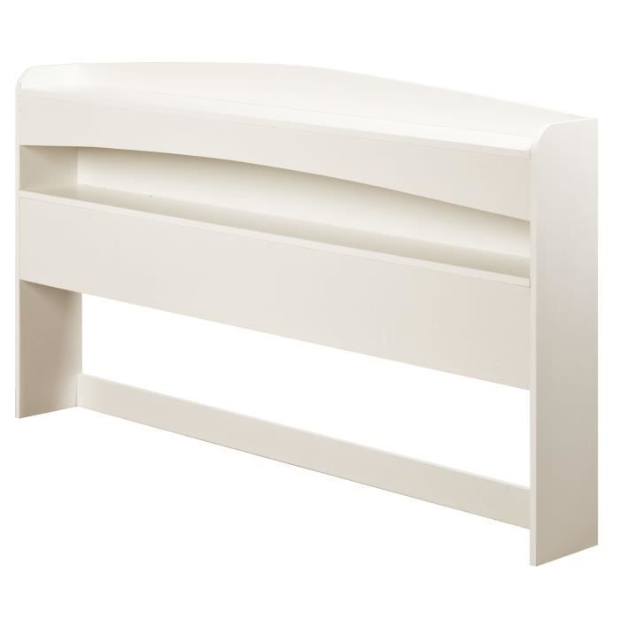 BORNEO Tête de lit classique - Blanc - L 160 cm - Achat / Vente tête ...