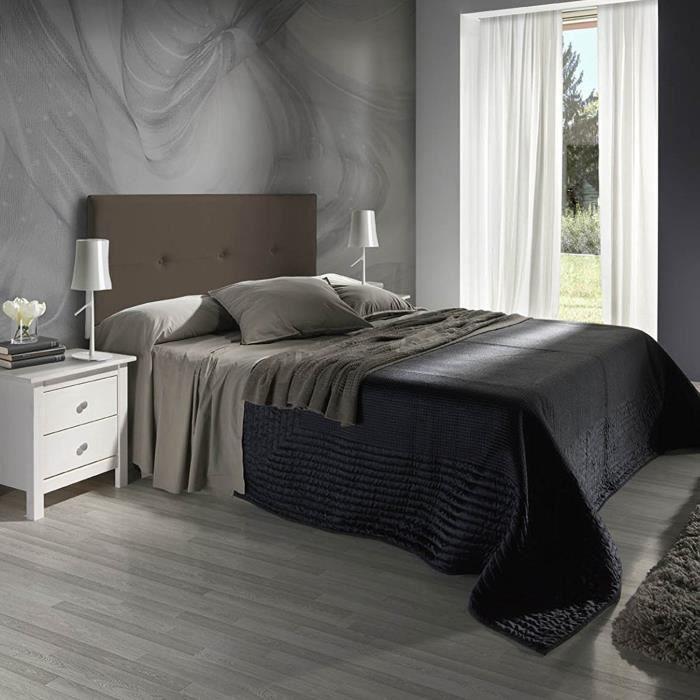 tete de lit chocolat achat vente tete de lit chocolat pas cher soldes d s le 10 janvier. Black Bedroom Furniture Sets. Home Design Ideas
