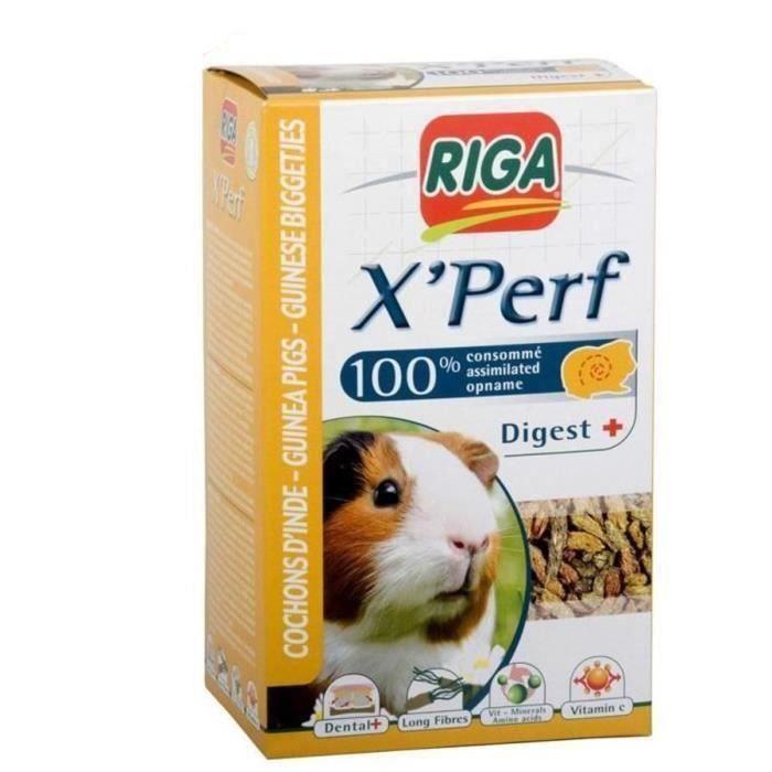 Riga Lot De 2 X Perf Croquettes Pour Cochons D Inde 500g Achat