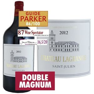 VIN ROUGE Double Magnum Château Lagrange Saint Julien 2012 -