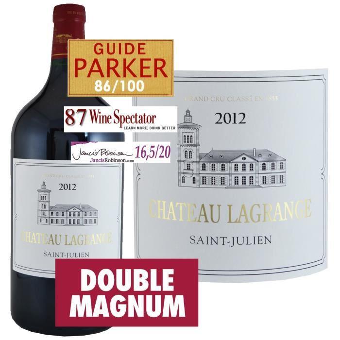 VIN ROUGE Double Magnum Château Lagrange 2012 Saint Julien -