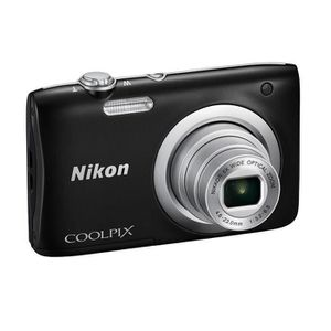APPAREIL PHOTO COMPACT NIKON COOLPIX A100 Noir - 20,1 mégapixels - Zoom N