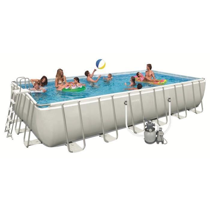 piscine intex piscine tubulaire rectangulaire ultra frame - Liner Pour Piscine Intex Tubulaire