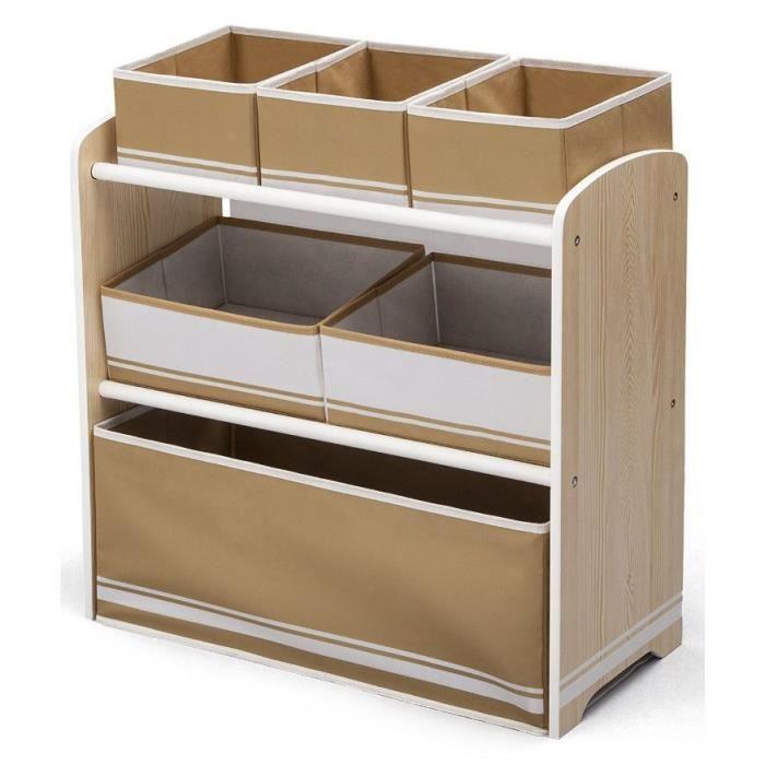 fabulous delta meuble de rangement enfant jouets bacs en. Black Bedroom Furniture Sets. Home Design Ideas