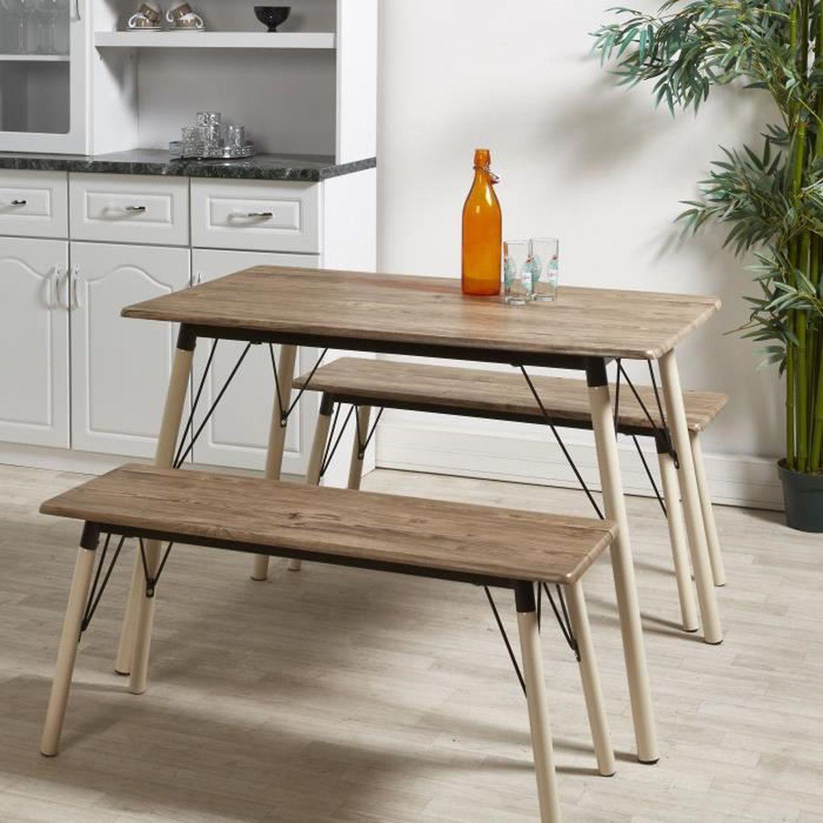 table de cuisine gris achat vente table de cuisine. Black Bedroom Furniture Sets. Home Design Ideas